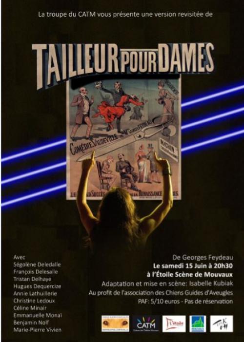 «Tailleur pour Dames» de Georges Feydeau