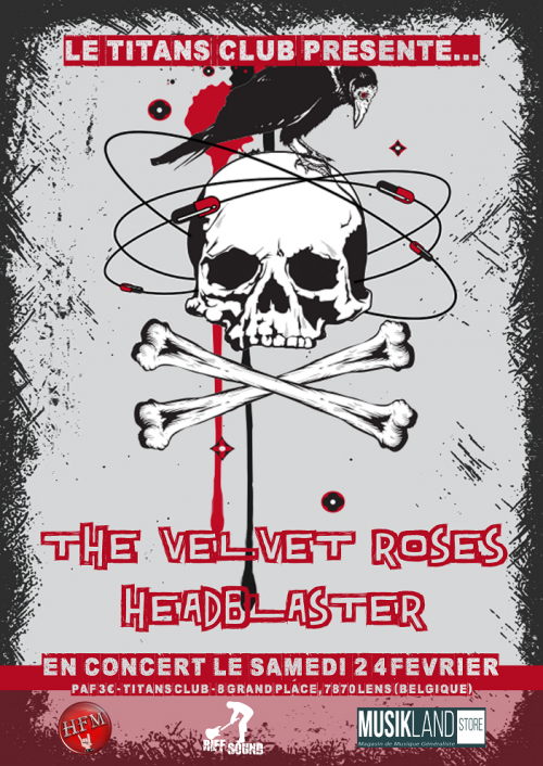 The Velvet Roses + Headblaster