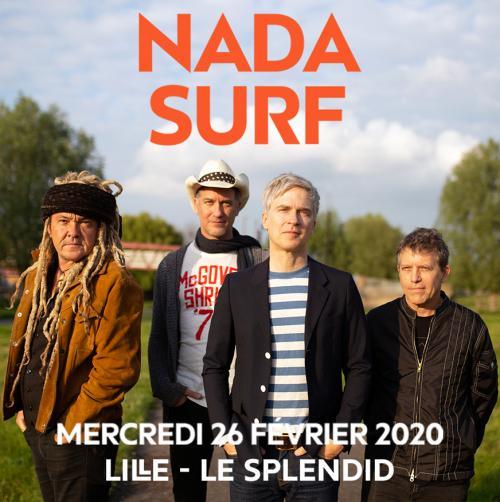Nada Surf au Splendid