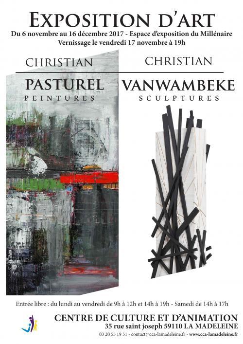 Christian Pasturel et Christian Vanwambeke