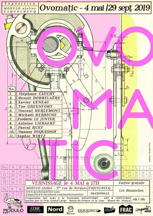 Ovomatic, une exposition collective