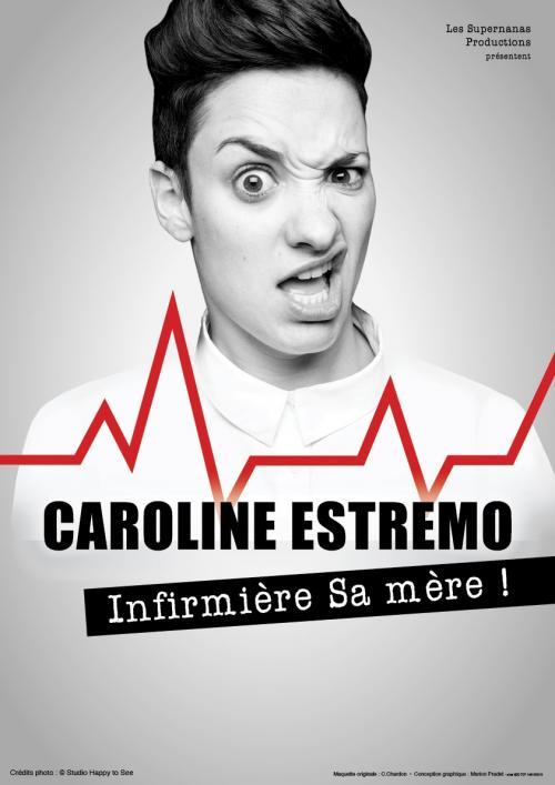 Caroline Estremo – Infirmière sa mère