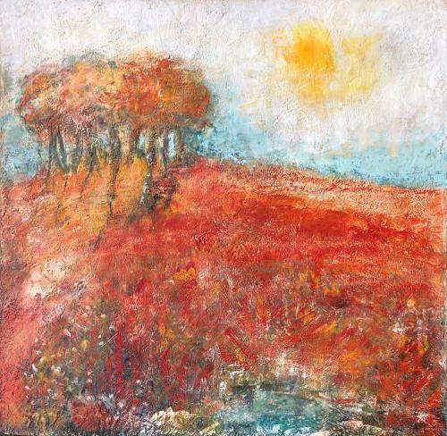 Paysages de cire : entre paysages imaginaires ou fragments de mémoire