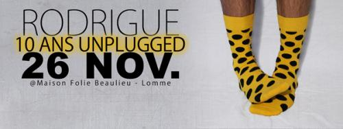 Rodrigue – 10 ans Unplugged