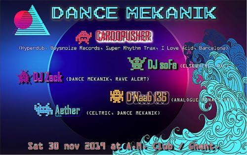 Dance Mekanik III : Cardopusher