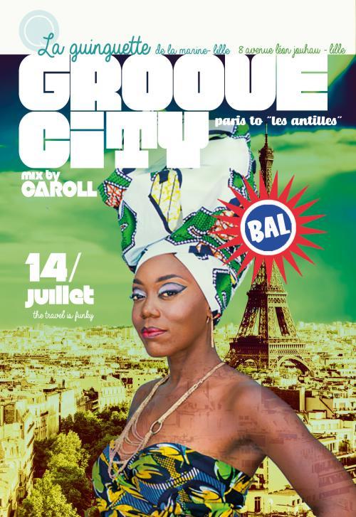 Bal du 14 juillet à la Guinguette avec DJ Caroll