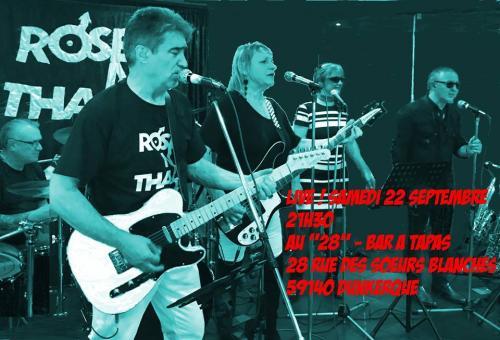 Rosenthal en concert au 28 à Dunkerque