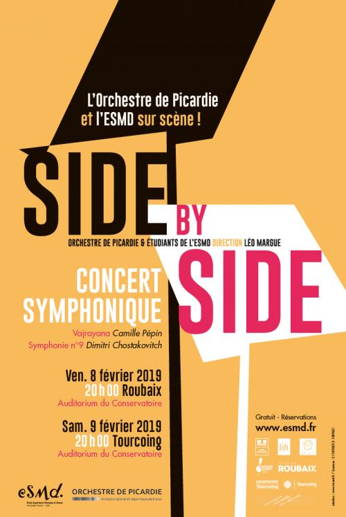 Side by Side par l'Orchestre de Picardie et l'ESMD