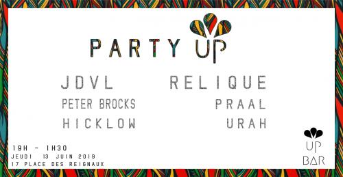 Party Up au Up Bar