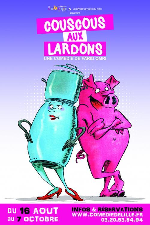 Couscous aux lardons, une comédie de Farid Omri