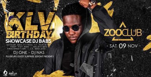 KLV birthday : showcase de DJ Babs