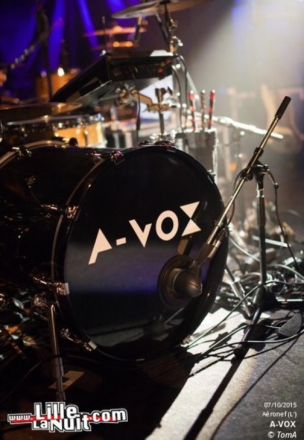 Minuit + A-Vox à l'Aeronef