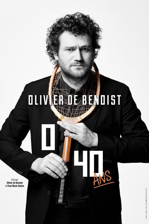 Olivier de Benoist au théâtre Sébastopol