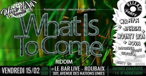 La release party de «What is to come»