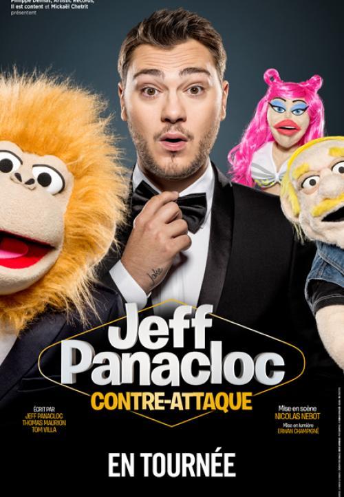 Jeff Panacloc au Zénith