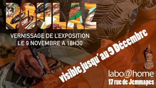 L'artiste lillois Boulaz s'invite au labo !