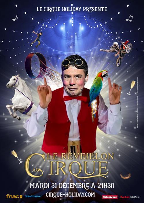 Réveillon au Cirque Holiday