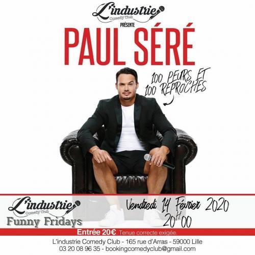 Paul Seré – 100 Peurs et 100 Reproches