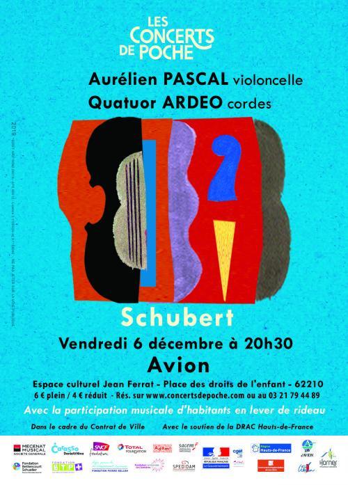 Aurélien Pascal et le Quatuor Ardeo