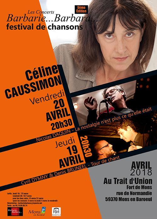 Céline Caussimon + Nicolas Daquin