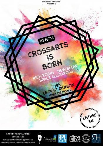 Crossarts Events présente sa première Release Party