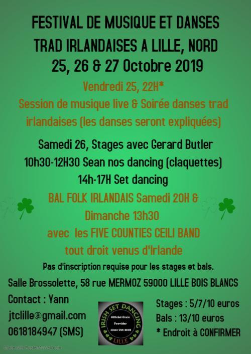 Festival de musiques et de danses traditionnelles irlandaises