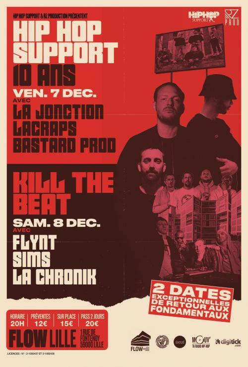 Kill The Beat #3 : La Jonction + Lacraps + Bastard Prod…