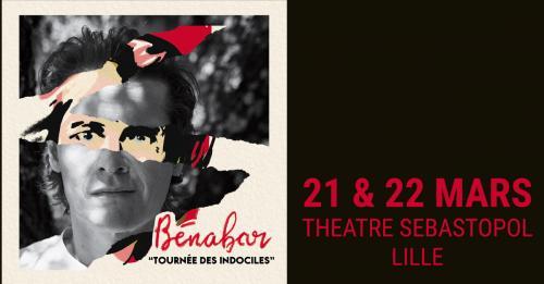 Bénabar en concert au Théâtre Sébastopol