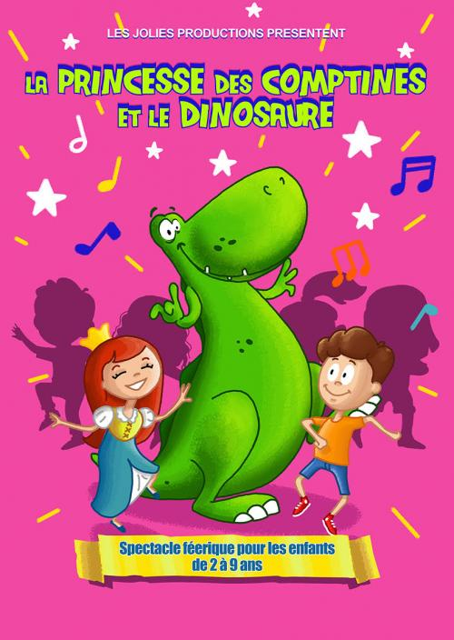 La princesse des comptines et le dinosaure !