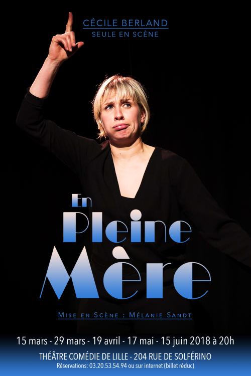 Cécile Berland dans «En pleine mère»