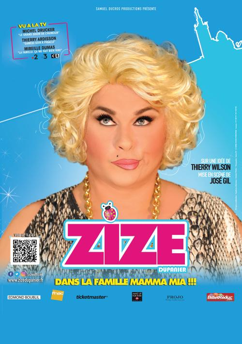 Zize dans la famille Mamma Mia !