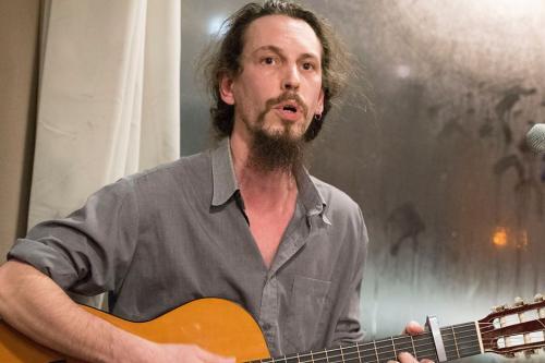Antoine Geniaut chante à la Friche !