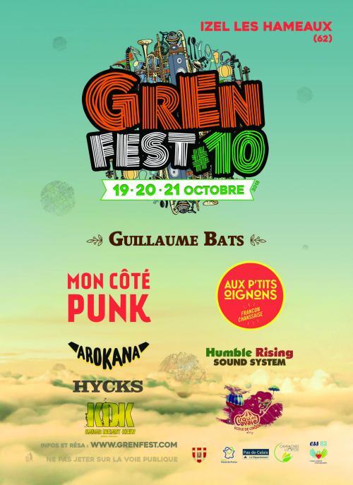 GrEn Festival, 10ème édition