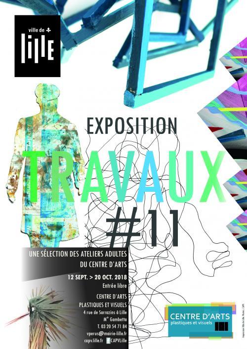 Exposition Travaux au Centre d'Arts