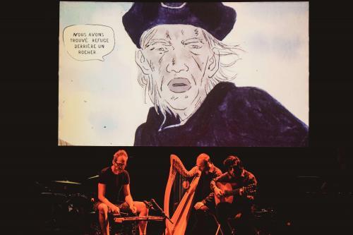 La saga de Grimr en BD-Concert