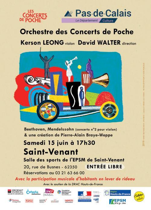 Les Concerts de poche à Saint-Venant