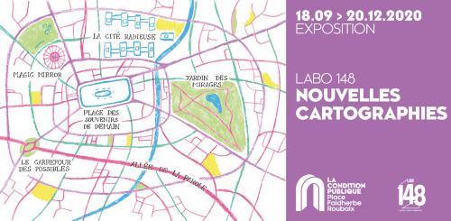 Nouvelles cartographies – Exposition