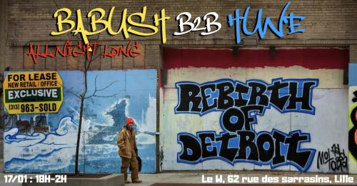 Babush B2B Hune au W