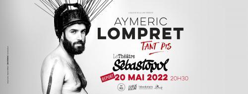 Aymeric Lompret au Théâtre Sébastopol
