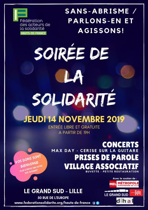 Soirée-concert de la solidarité
