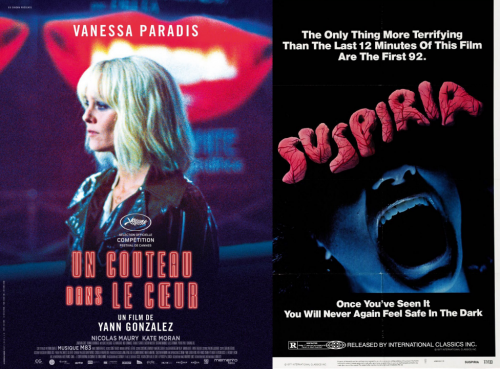Soirée thriller psyché : Un Couteau dans le Cœur + Suspiria