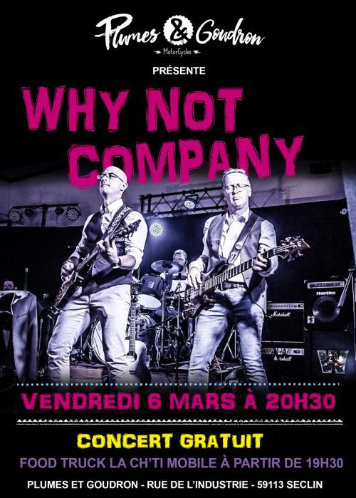 « Why Not Company » en concert