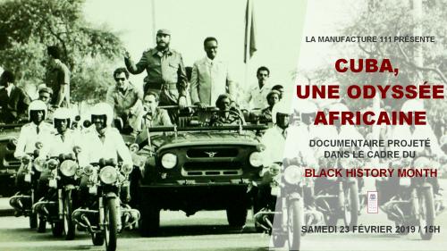 Cuba : une odyssée africaine