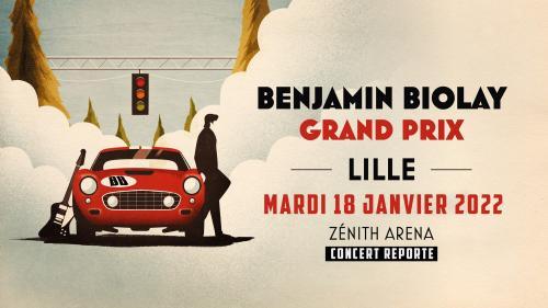 Benjamin Biolay au Zénith de Lille