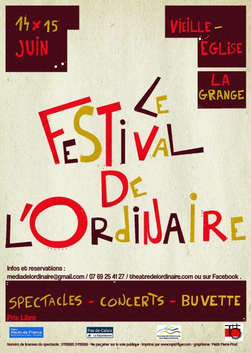 Le festival de l'Ordinaire