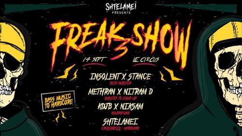 Shtelameï Freakshow, la 3e édition