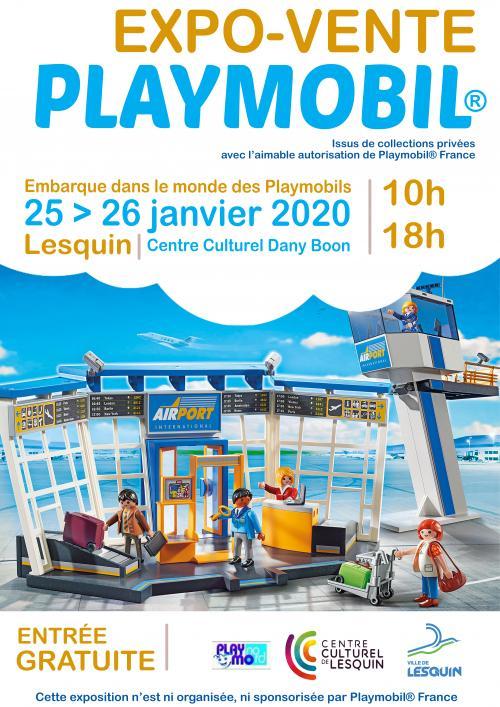 Expo-vente Playmobil à Lesquin