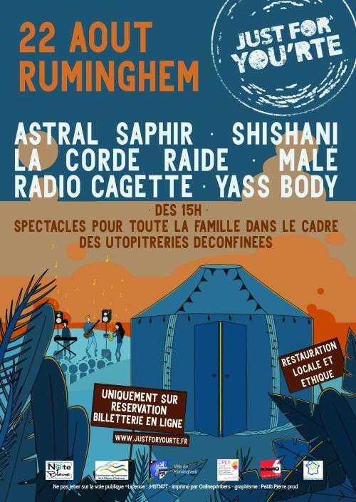 Just for You'rte, un festival de musiques actuelles autour d'une yourte