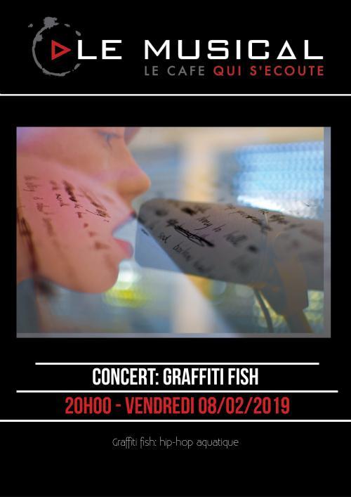Graffiti Fish au Musical