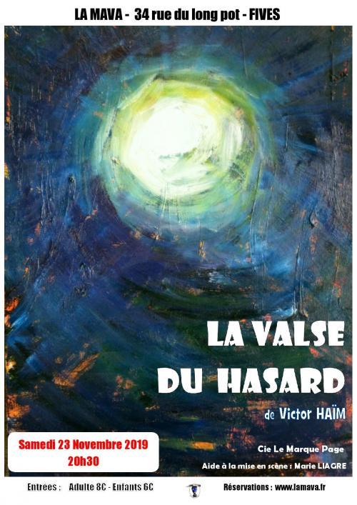 Le Marque Page présente La Valse du Hasard